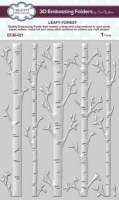 Leafy Forest 3D Embossing Folder EF3-021