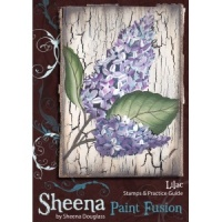 Lilac Paint Fusion Unmounted Rubber Stamp Set SD-SSPF-LILAC