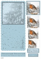 Robin Christmas Concept Card Kit Line 930