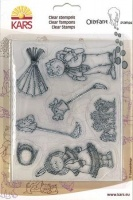 Cowboy & Indian Ollyfant Clear Stamps