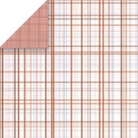 Lollipop Plaid Powder Room Collection Scrapbook Walls 20339