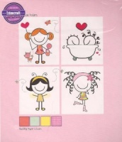 Love Decoupage Kit - Smirk - Trimcraft