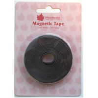 Magnetic Tape Self Adhesive 1cm x 2m WW2875