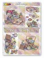 Memory Boxes Decoupage Sheet La Pashe