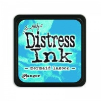 Tim Holtz Mini Distress Ink Pad Mermaid Lagoon