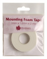 Double Sided Foam Tape 2mm x 12mm x 2mtr