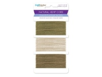 Natural Hemp Cord Colour Mix Pack CC812C