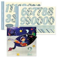 Numbers Die Cut Big Birthdays For Him Celebrations Collection ASC05