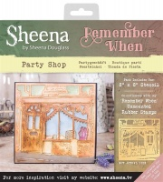 Party Shop Remember When Collection Stencil 8'' x 8''