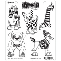 Puppy Dog Tales Stamp Set Dylusions DYR55518