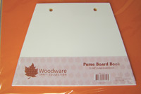 Purse Board Book 6.5'' x 9'' Woodware JL702