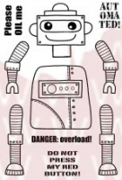 Roger Robot Clear Stamp Set JGS452