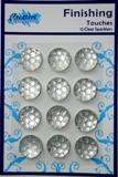 Round Clear Sparklers Finishing Touches Creative Expressions SPARKCLEAR