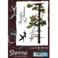 Sheltering Tree A Little Bit Sketchy Stamp Set by Sheena Douglass SD-SS-TREE