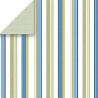 Shirt Stripe 12 x 12 Paper Scrapbook Walls Chatterbox 20224