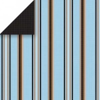Sky Pedestal Stripe Scrapbook Walls Chatterbox 24225