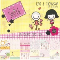 Smirk - Love & Friendship - 6 x 6 Paper Pack