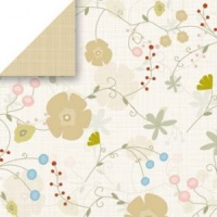 Soft Flowering Vine Scrapbook Walls Chatterbox 24403