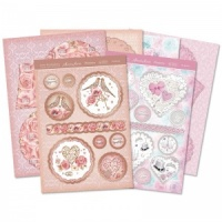 Special Day Punched Edge Frame Cards Love Hunkydory Collection LH102