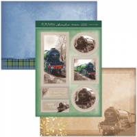 Steam Train Ride For The Gentlemen Collection ALL916
