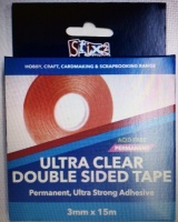 3mm x 15m Ultra Clear Red Liner Tape Stix 2