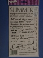 Summer Sentiments Acid Free Rub-On ROY-505
