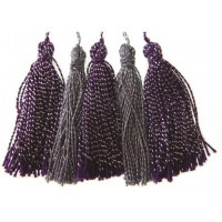Tassels Violet Colour Connection AC0124V