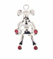 Teddy Bear Charm With Moving Legs
