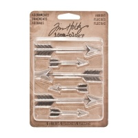 Tim Holtz Idea-ology Adornments Arrows TH93127