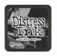 Tim Holtz Mini Distress Ink Pad Black Soot TDP39860