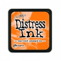 Tim Holtz Mini Distress Ink Pad Carved Pumpkin TDP47377