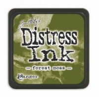 Tim Holtz Mini Distress Ink Pad Forest Moss