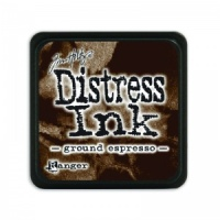 Tim Holtz Mini Distress Ink Pad Ground Expresso TDP47353