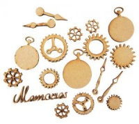 Time Piece Accessories Pack MDF