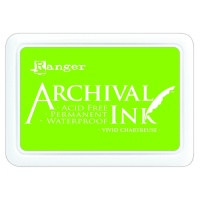 Vivid Chartreuse Archival Ink Pad Ranger AIP52531