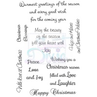 Warmest Greetings Of The Season Stamps Sweet Dixie SDCSA6086