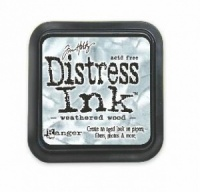 Weathered Wood Distress Ink Pad Tim Holtz Ranger TIM20257