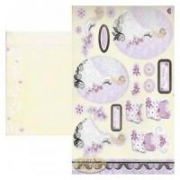 Wedding Card Making Kit Kanban PCT1361