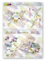 With This Ring Wedding Decoupage Sheet La Pashe Value Collection