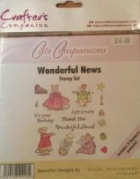 Wonderful News Stamp Set Cute Companions