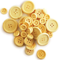 Wooden Craft Buttons Assorted Sizes Natural MCW340