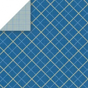 Tie Plaid Scrapbook Walls Chatterbox 20227