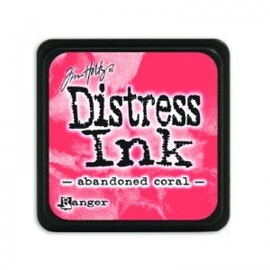 Tim Holtz Mini Distress Ink Pad Abandoned Coral TDP46769