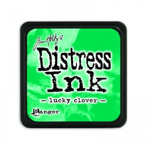 Tim Holtz Mini Distress Ink Pad Lucky Clover TDP47384