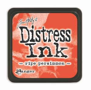 Tim Holtz Mini Distresss Ink Pad Ripe Persimmon TDP40118