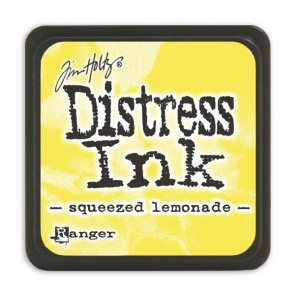 Tim Holtz Mini Distress Ink Pad Squeezed Lemonade TDP40200