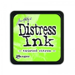 Tim Holtz Mini Distress Ink Pad Twisted Citron TDP47322