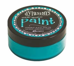Vibrant Turquoise Dylusions Paint DYP46042