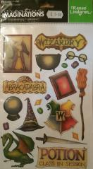 Wizard Epoxy Stickers
